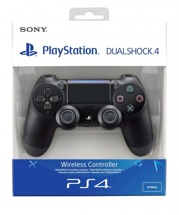 PlayStation 4 Dualshock 4 Controller V2 Zwart