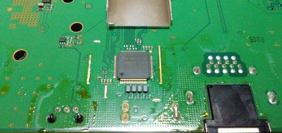 defecte HDMI controller IC