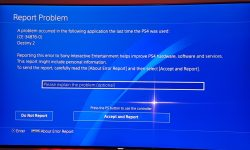 Read error ps4