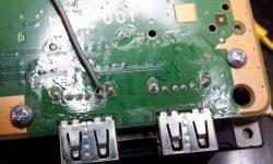 PS4 usb socket