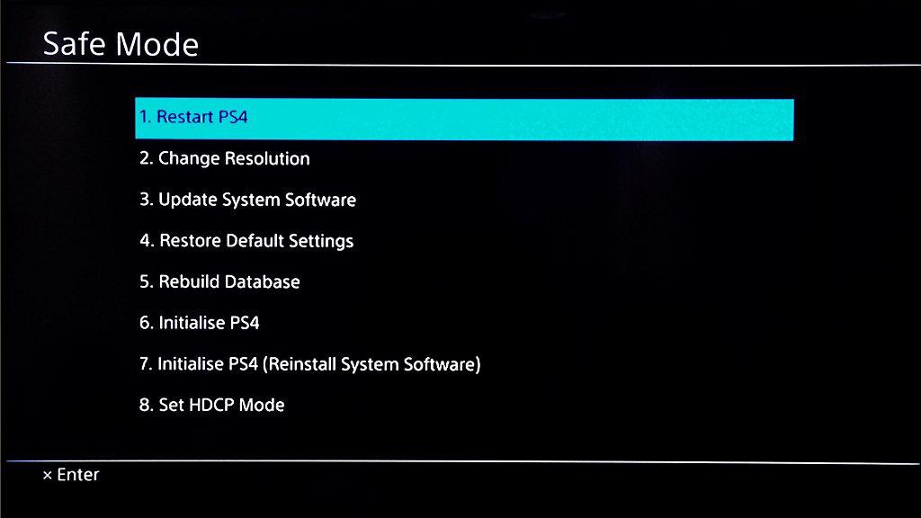 PS4 software/firmware probleem