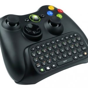 Xbox 360 Chatpad Zwart – Microsoft