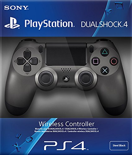 PlayStation 4 Dualshock 4 Controller V2 Steel Black