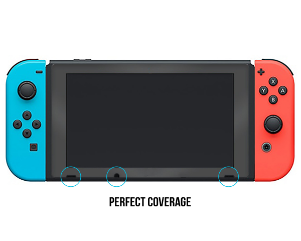 Nintendo Switch Screenprotector Tempered Glass