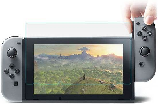 Nintendo Switch Screenprotector Tempered Glass 9H