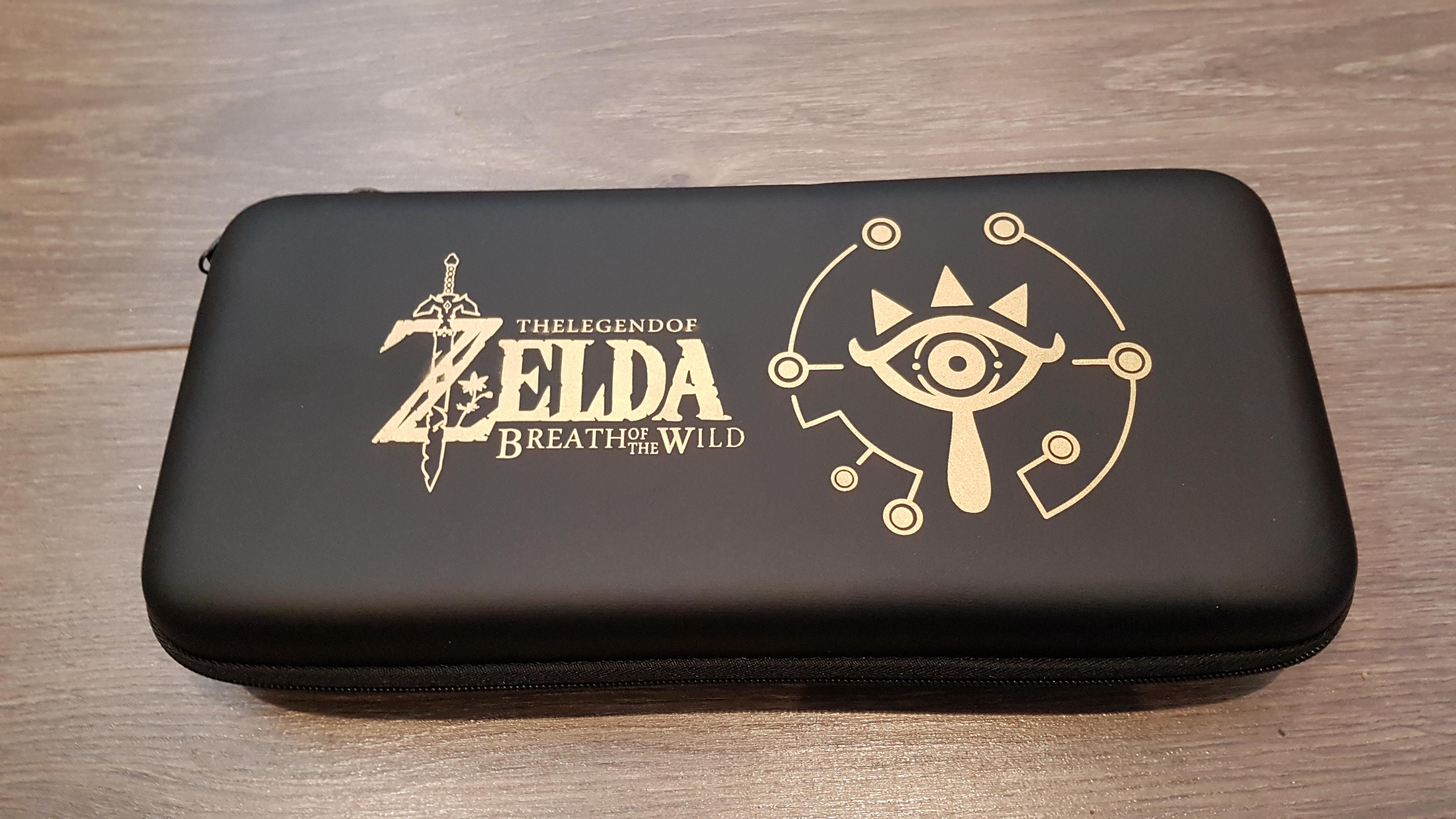 Nintendo Switch Zelda Hardcase met Screenprotector en Draagtas