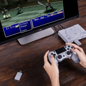 8BitDo PlayStation Classic | Nintendo Switch Wireless USB Adapter