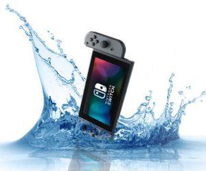 Nintendo Switch Water Schade Reparatie