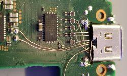 Nintendo Switch USBC reparatie