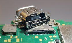USBC poort vervangen Nintendo Switch